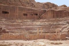 Petra, Jordania Fotografia Stock