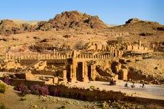 PETRA, Jordânia Fotografia de Stock Royalty Free