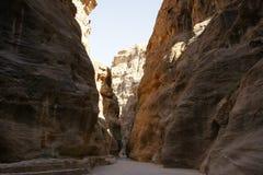 PETRA, Jordânia Foto de Stock Royalty Free