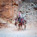 PETRA, Jordão Fotos de Stock