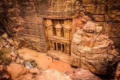 PETRA Jordão Imagens de Stock Royalty Free