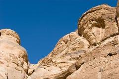 Petra in Jordan. Ancient city of Petra in Jordan Royalty Free Stock Image