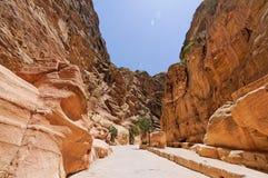 Petra, Jordan. The Petra (near Amman) in Jordan Royalty Free Stock Photos