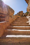 Petra, Jordan. An ancient ruined city of Edom in present-day southwest Jordan. It flourished as a trade center and the capital of Nabataea from the 4th century B Stock Photography