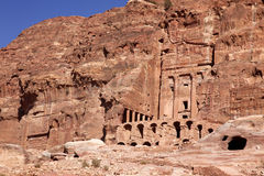 Petra , Jordan. Petra - Nabataeans capital city ( Al Khazneh ), Jordan Royalty Free Stock Photo