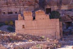 Petra, Jordan. Temenos Gate in Petra, Jordan Royalty Free Stock Images