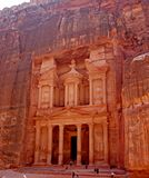 Petra,Jordan. The anchient City of Petra royalty free stock image