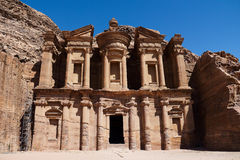 Petra in Jordan Stock Photography