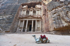 Petra, Jordan Royalty Free Stock Photography
