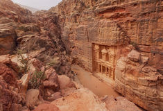 Petra. Jordan Stock Image