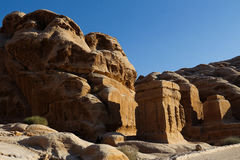 Petra ruins in Jordan Stock Images