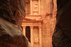 Petra in Jordan Royalty Free Stock Photography