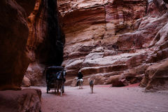 Petra in Jordan Royalty Free Stock Photo