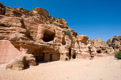 Petra in Jordan Royalty Free Stock Photography