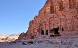 Petra-Jordan. Detail from ancient city Petra-Jordan Royalty Free Stock Image
