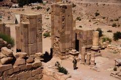Petra in Jordan Royalty Free Stock Photos