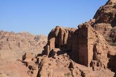 Petra Jordan. The historic city petra in jordan Royalty Free Stock Images