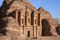 Petra Jordan. The historic city petra in jordan Royalty Free Stock Image