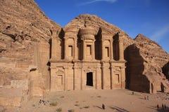 Petra Jordan. The historic city petra in jordan Stock Photo