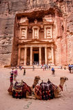 Petra, Jordan. Petra is a historical and archaeological city in the southern Jordan and UNESCO World Heritage Site since 1985 Royalty Free Stock Images