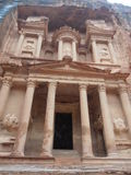 Petra. In Jordan, Middle East Royalty Free Stock Photos