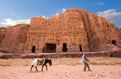Petra in Jordan Royalty Free Stock Image