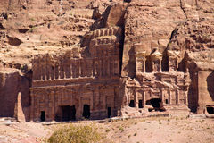 Petra in Jordan Stock Photos