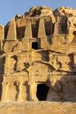 Petra Jordan. Stone monument in Petra Jordan Royalty Free Stock Photography