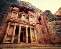 Petra Jordan stock images