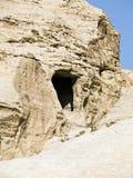 Petra in Jordan - tombs Stock Photos