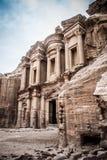 Petra. Jordan. Treasry Temple, Ancient ruin Royalty Free Stock Image