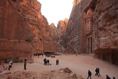 Petra Jordan Stock Photo