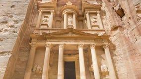 Petra, Jordan. The Treasure, Petra, Jordan. UNESCO world heritage site and one of The New 7 Wonders of the World Royalty Free Stock Image