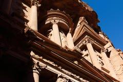 Al Khazna of Petra in Jordan Stock Photo
