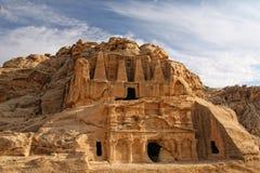 Petra-Jordanië stock foto's