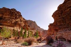 Petra, Jordanië Stock Afbeeldingen