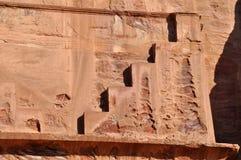 Petra-Jordanië royalty-vrije stock foto's