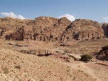Petra - Jordanië Stock Fotografie