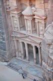 Petra, Jordanië Stock Foto