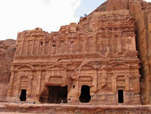 Petra, Jordanië royalty-vrije stock foto's