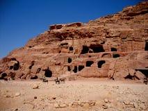 Petra, Jordanië Royalty-vrije Stock Foto