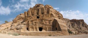 PETRA, JORDANIË, oude Stad, geschiedenisstad, Unesco, stock foto