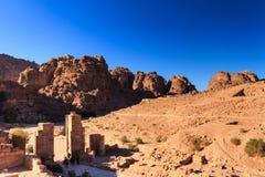 Petra, Jordania Foto de archivo libre de regalías