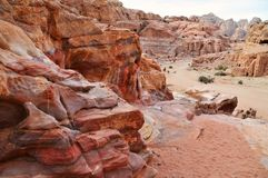 Petra - Jordania Royalty Free Stock Photography