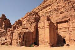 Petra, Jordania Fotos de archivo