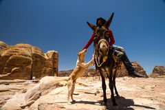 Petra, Jordania Imagen de archivo