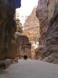 Petra, Jordania Imagen de archivo libre de regalías