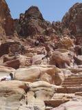 Petra, Jordania Imágenes de archivo libres de regalías