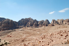 Petra, Jordania fotos de archivo libres de regalías
