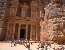 Petra, Jordania, stary miasteczko, UNESCO, historia, zdjęcie royalty free